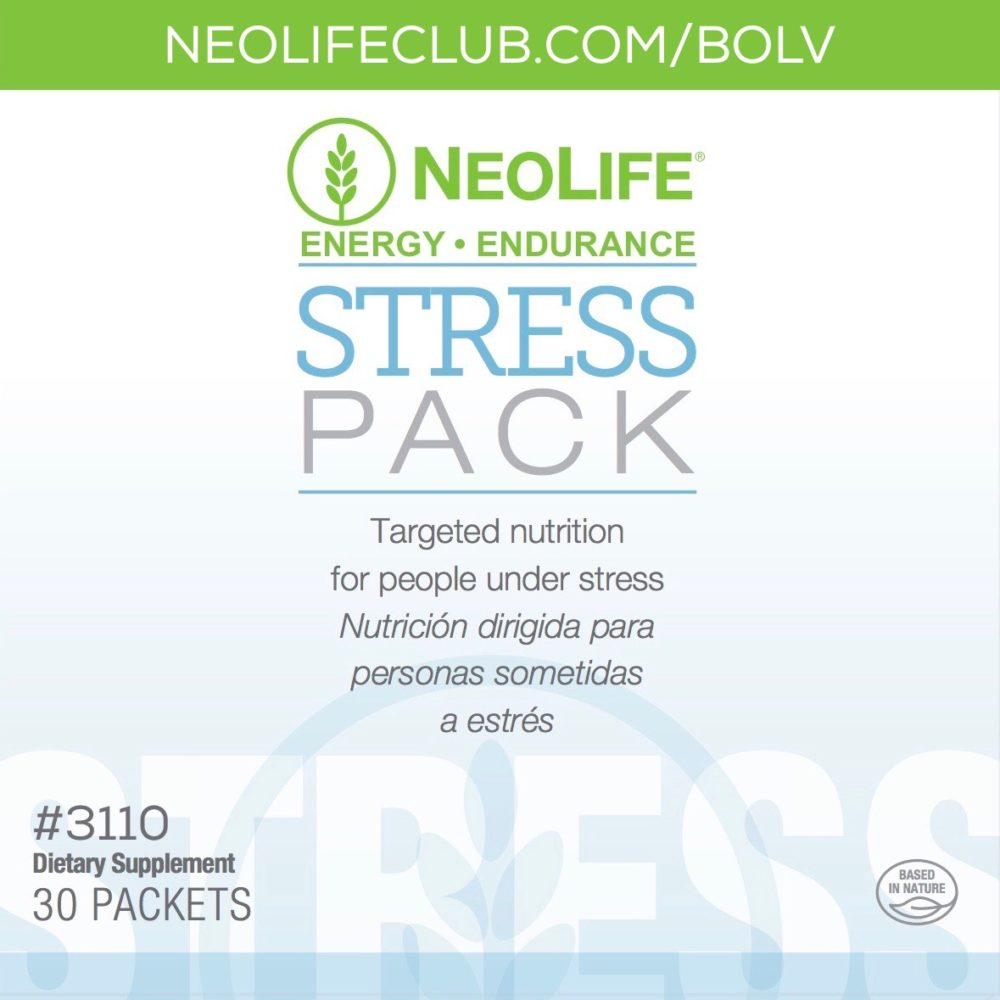 Stress Pack combats the effects of stress