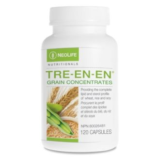 Tre-en-en Grain Concentrate Oils helps provide energy to all cells and renewal.