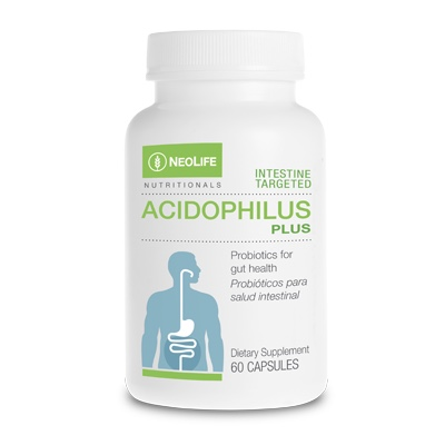 Acidophilus Plus for a happy gut