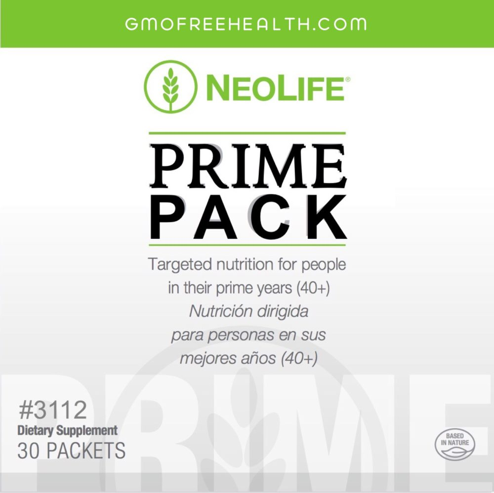 Prime Pack after 40 Neolife Targeted Nutrition