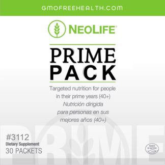 Prime Pack after 40 Neolife Targeted Nutrition