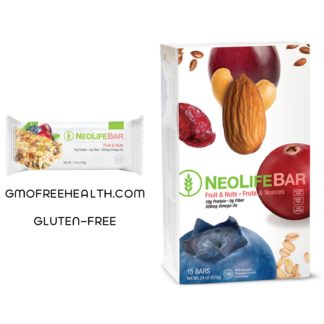 NeoLifeBar Fruit and Nuts Satisfy Hunger
