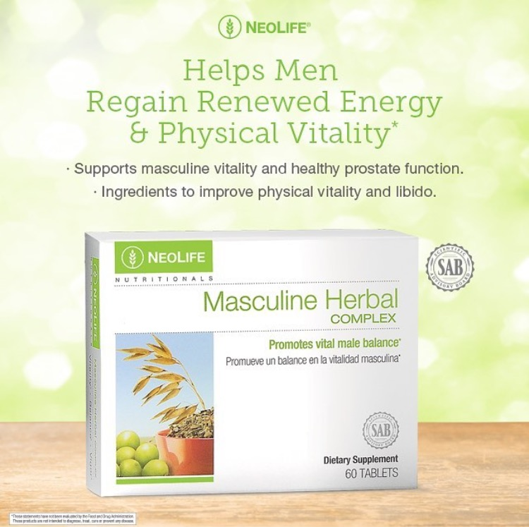 Masculine Herbal Neolife GNLD
