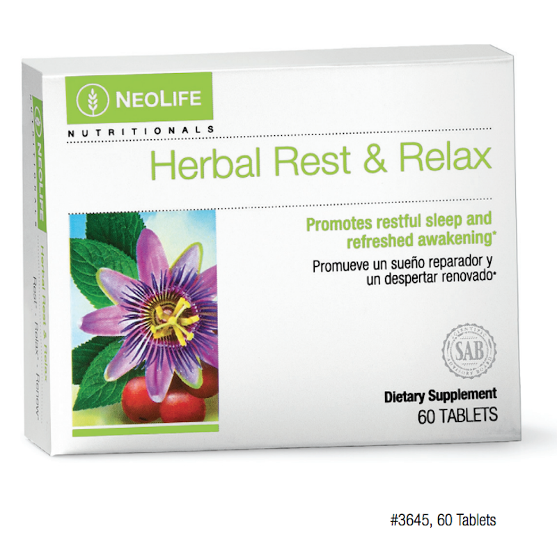 Rest and Relax Herbal Neolife GNLD