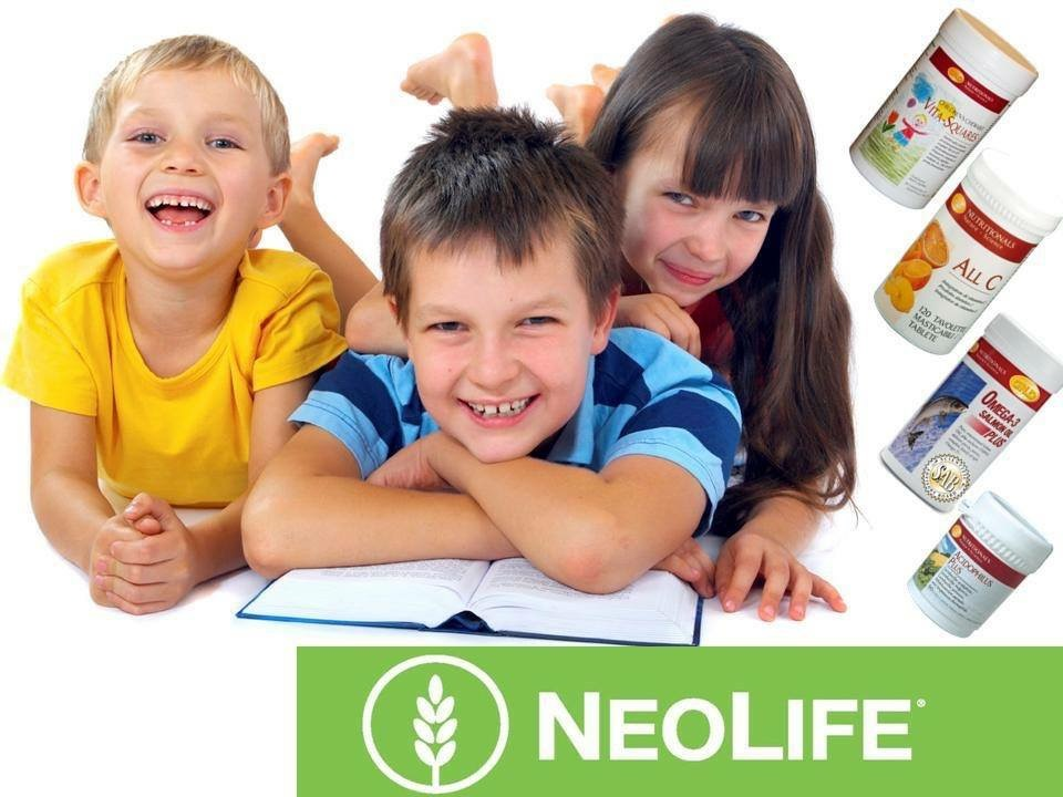 Vita-Square Children Chewable Multi Neolife