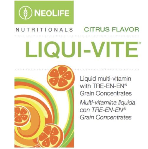 Liqui-Vite Multi Food Supplement Neolife