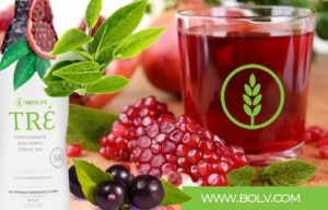 Tré Nutritional Essence Pomegranate Dark Berries Drink with Reservatrol and Alpha-lipoic-acid.